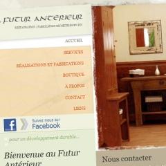 Site web de restauration et fabrication de meubles en pin1