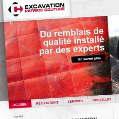 Site web d'excavation Patrice Couture1